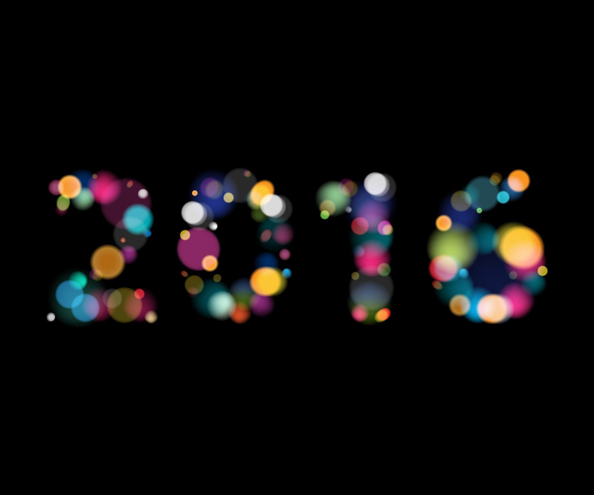 Happy 2016…